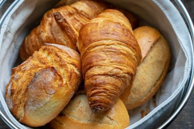 Croissants Brötchen Frühstück